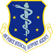 Air Force Medical Support Agency Seal